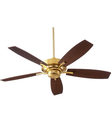 80 inch ceiling fans quorum 64525 80 soho 52 inch aged brass with walnut