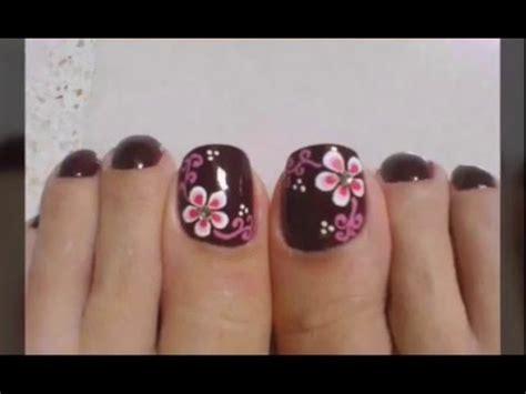 imagenes de uñas decoradas sencillaa decoracion de u 241 as de los pies sencillas con flores