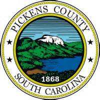 Pickens County Sc Records Pickens County South Carolina Seal