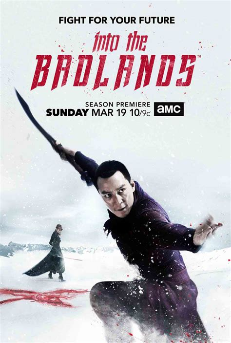 amc into the badlands poster into the badlands season 2 poster mymbuzz