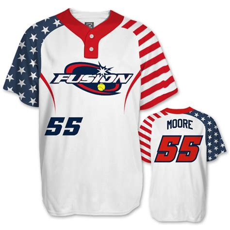 speacial price design your own baseball jerseys full elite independence day bb jersey fully decorated