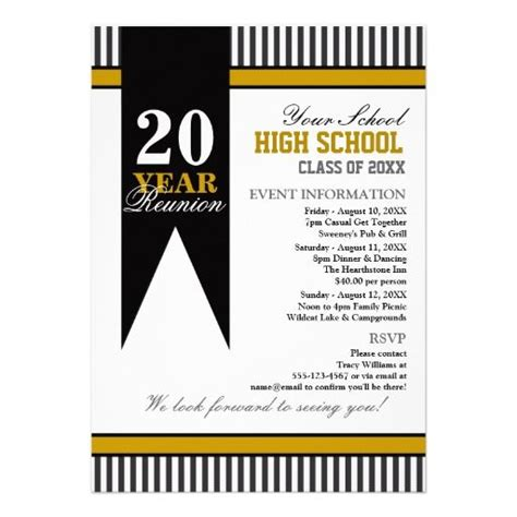 class reunion invitation template 9 best images about class reunion inivitations on