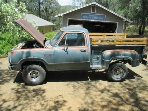 sell used 1979 dodge warlock in united states