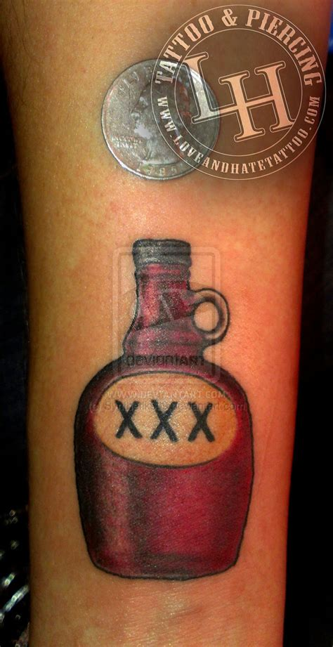 tattoo liquor liquor bottle www imgkid the image kid has it