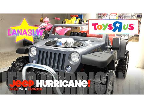 Toys R Us Jeep Best Popular Jeep Hurricane Ride On Electric Car Test