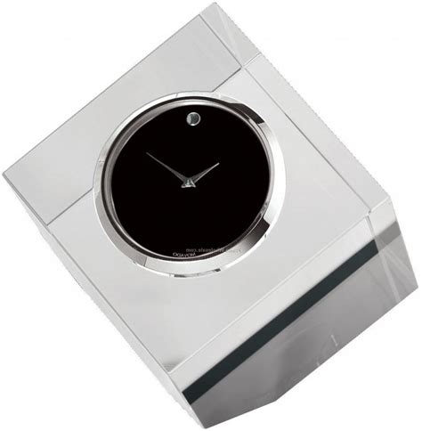 movado desk clock movado rotating photo frame desk clock