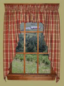 Primitive Country Kitchen Curtains Curtains Drapes On Country Curtains Primitive Curtains And Curtains