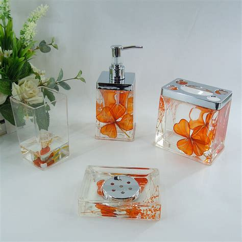 orange bathroom accessories set orange bathroom accessories set orange bathroom