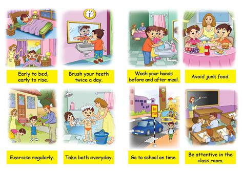clean habits buy good habits books for kids good habits book for children
