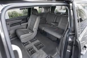 Honda Odyssey Interior The Big Test Minivans Chrysler Honda Kia Nissan And