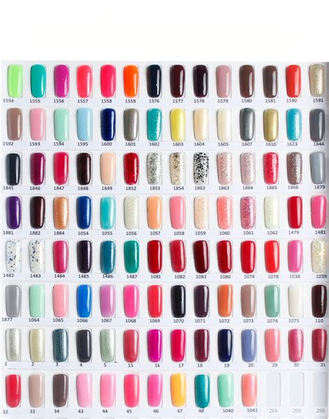new nail colors colors of gel nail maxicub