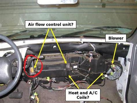 1994 chevy silverado blend door actuator service manual how to replace 1994 gmc vandura 3500 blend