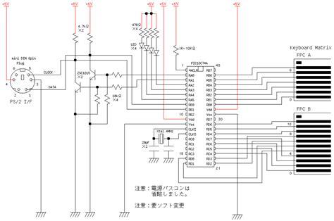 Keyboard Okaya Keyboard Encoder Circuit By Okaya