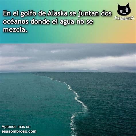 de donde no se 8492841664 en alaska se junta dos oc 233 anos donde el agua no se mezcla es asombroso