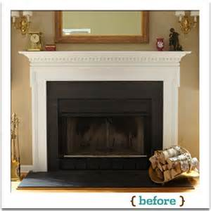overview how to reface a fireplace this house