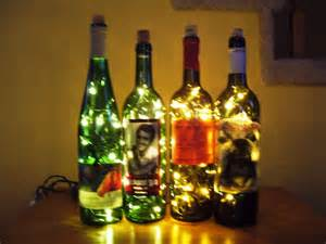 wine bottle l lights wine bottle accent light