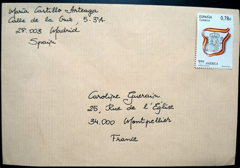 Letter Address Envelope penpalling and letters how to address an envelope