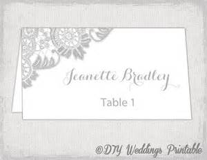 avery template 5302 printable place cards template silver gray wedding place card
