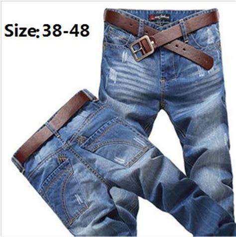 New Dng Sz 38 2016 new large fashion plus size 38 48 waist 48 inch high quality cotton denim