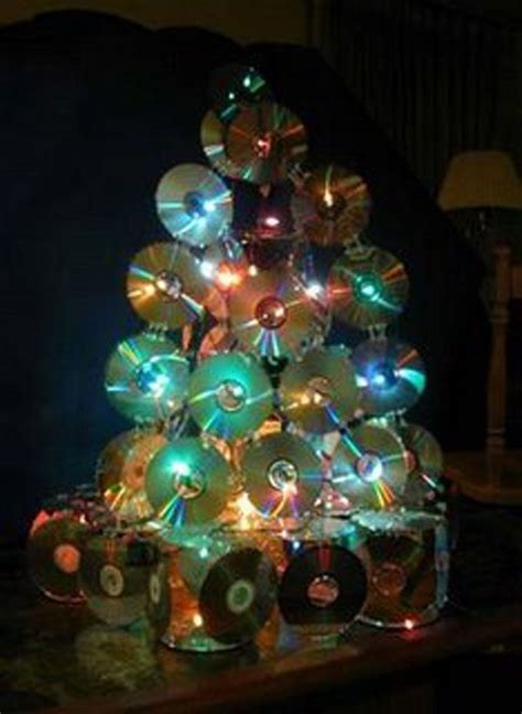 o christmas tree dvd 1000 formas de reciclar cds y dvds