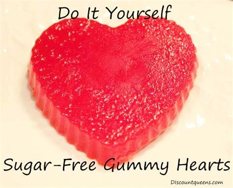 sugar free valentines do it yourself sugar free gummy hearts for s day