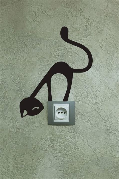 Creative Ways To Decorate Your Home 40 cute and creative home switchboard art installation