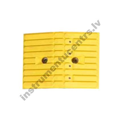 Wedges Lv Laser Gg 55 rubber speed bumps yellow 355x260x55 mm