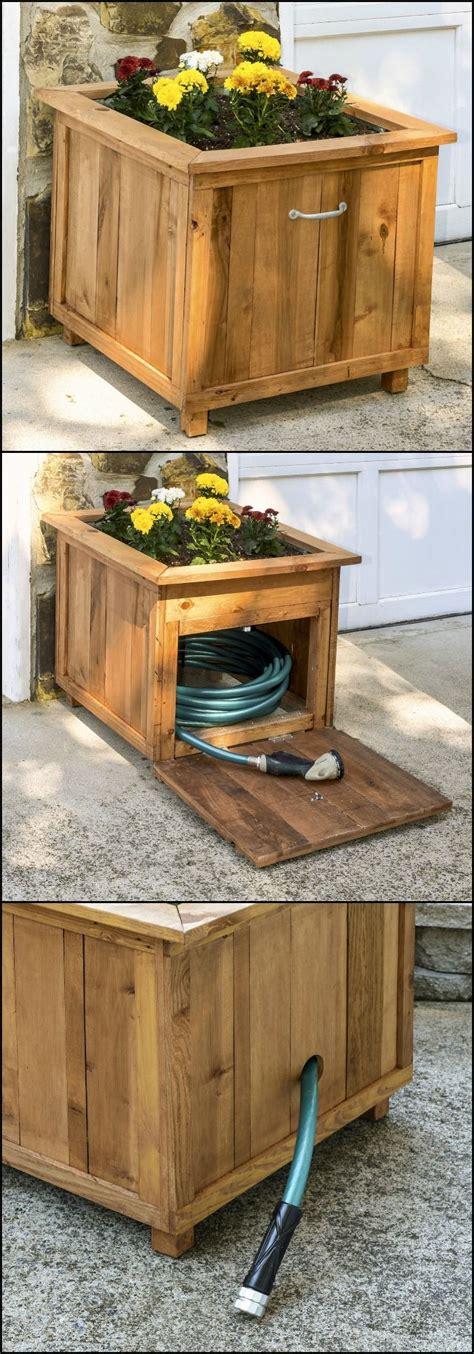 Garden Hose Storage Ideas 17 Best Ideas About Garden Hose Storage On Pinterest Garden Hose Holder Hose Storage And