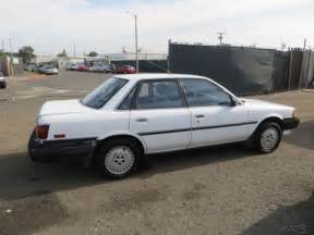1989 Toyota Value 1989 Toyota Camry Deluxe Used 2l I4 16v No Reserve For
