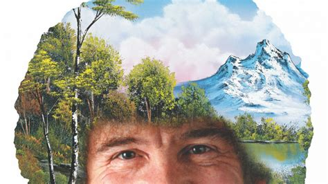 bob ross painting board bob ross the of chill review happy trees