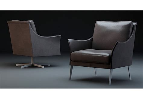 poltrona flexform swivel armchair flexform milia shop