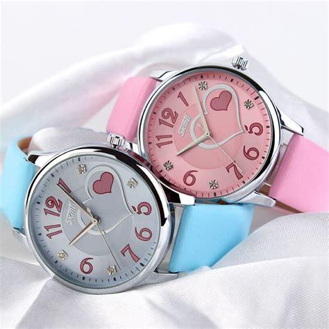 Termurah Skmei Jam Tangan Analog Kulit 9085cl Blue skmei jam tangan analog wanita 9085cl blue