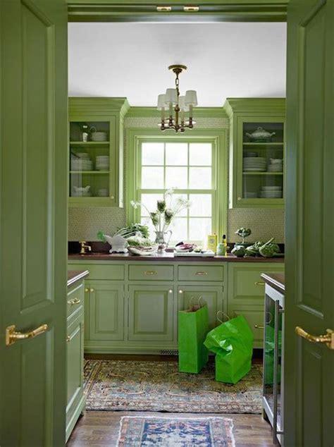 green cabinets eclectic kitchen benjamin moore