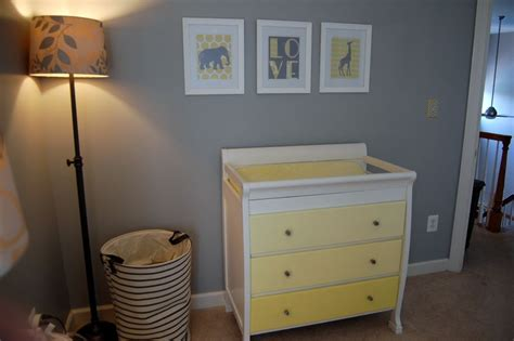 gray dresser nursery reese s yellow and gray nursery project nursery nursery