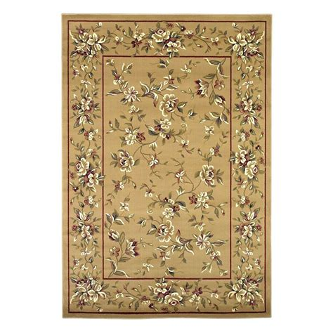 home traditions rugs kas rugs traditional florals beige 7 ft 7 in x 10 ft 10 in area rug cam733877x1010 the