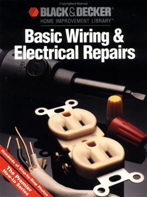 black decker basic wiring electrical repair by