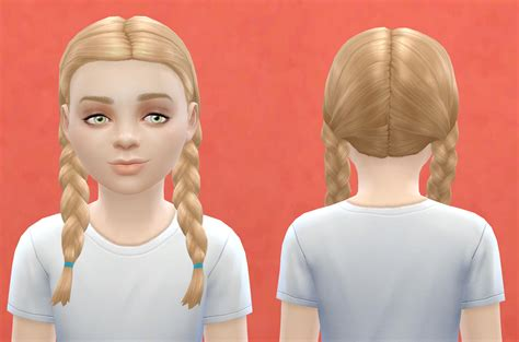the sims 4 hair kids my sims 4 blog base game compatible outdoor retreat hair