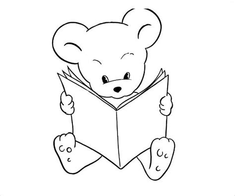 teddy bear coloring pages for adults 9 teddy bear coloring pages jpg ai illustrator download