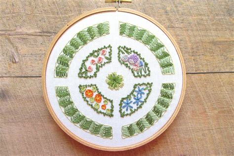 embroidery design making 10 gardening inspired embroidery patterns
