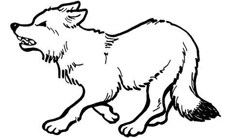 imagenes para colorear lobo dibujos de lobos para colorear y pintar