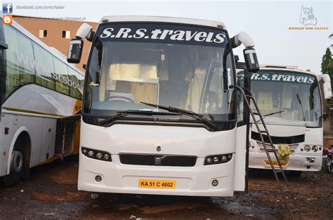 Srs Sleeper by Srs Volvo B9r Multiaxle Seater And Semi Sleeper At Belgaum