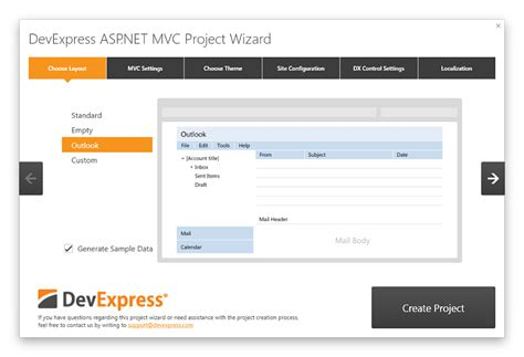 design templates for asp net website use a project template to create a fully functional