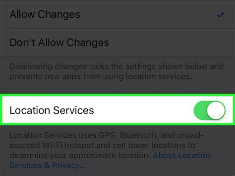turn location services iphone 2 simple ways to turn on location services on an iphone or