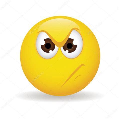 emoticonos de dibujos animados con cara enfadada sobre cara enojada vector de stock 169 l4diseno 31188355