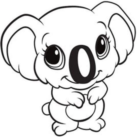 cute koala coloring pages baby koala coloring pages sketch coloring page