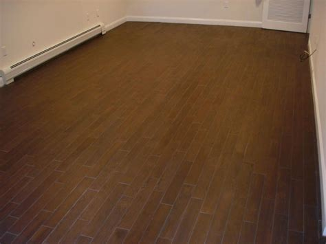 wood porcelain tile floor new jersey custom tile