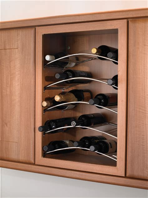 kitchen wine cabinets set of three curved wine racks kitchen unit on worktop