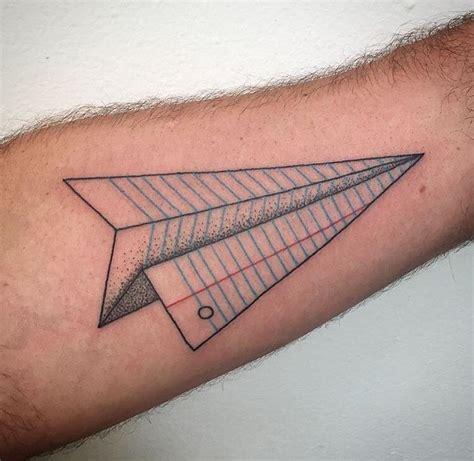 tattoo paper airplane paper airplane tattoos airplane