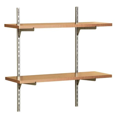closetmaid wood shelf closetmaid 818200 2 shelf kit wood sears outlet