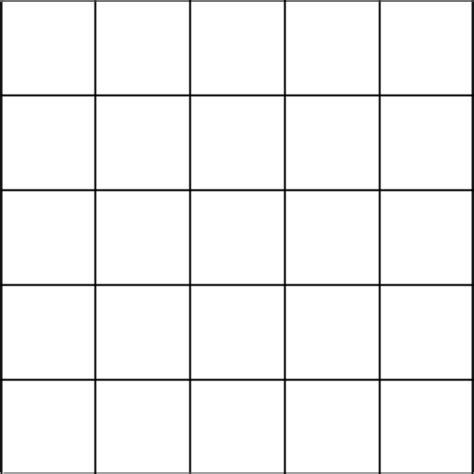 Bingo Card Template 5x5 by Blank Bingo Template Free 5x5 Myideasbedroom